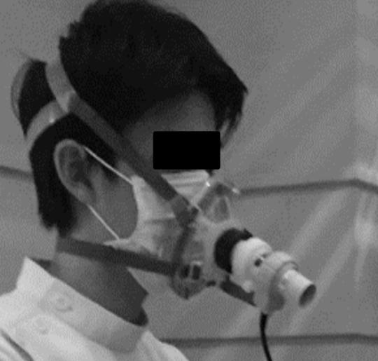 Hoe meet je of de lucht gezond is met een masker?