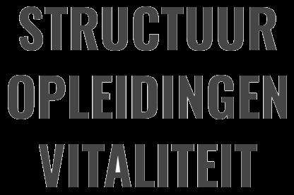 Structuur opleidingen vitaliteit (chivo)